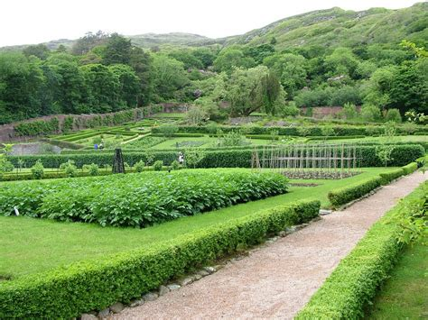 Visiting The Walled Garden At Kylemore Abbey In Ireland Walled Gardens Ireland