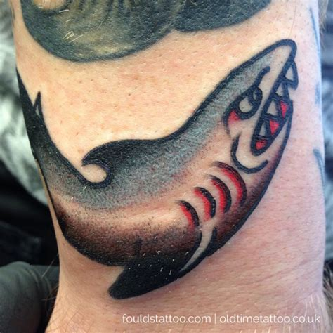 sailor jerry shark tattoo foulds traditional and dotwork tattooing page 4