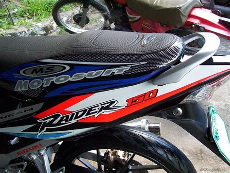 suzuki motorcycle emblem raider 150 stickers custom sticker
