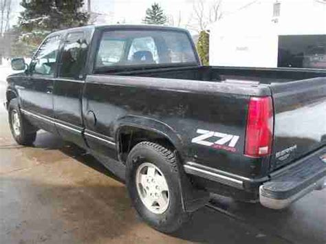 purchase used 1992 gmc sierra 1500 extended cab 4x4 z 71 5 7 v8 just like chevy silverado in