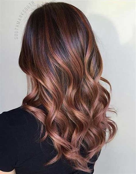 hairstyles and colors long hair latest balayage hair color you will love long hairstyles