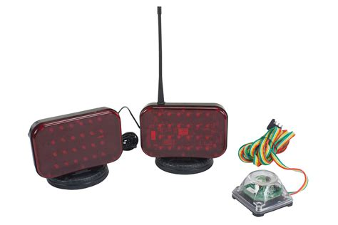 wireless magnetic tow lights larson electronics releases wireless battery powered led