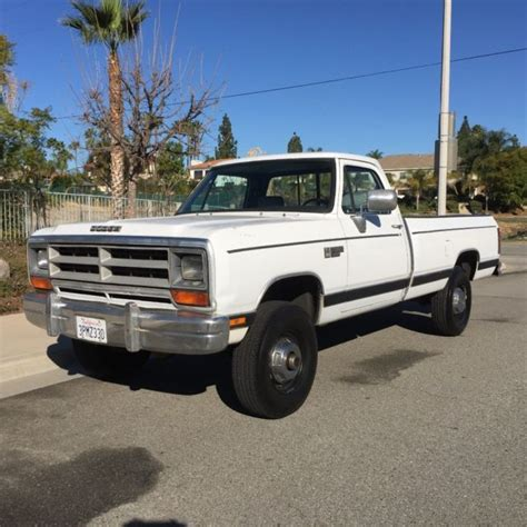 1990 dodge ram cummins for sale 1990 dodge ram w250 12v cummins diesel 4x4 1owner low