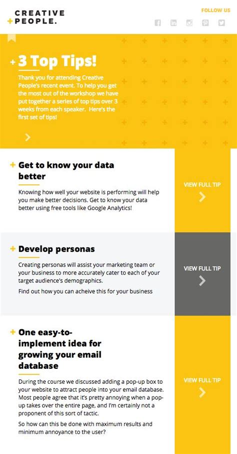 best layout for email marketing 271 best email design inspiration images on pinterest