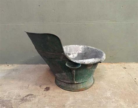 ancienne baignoire en zinc