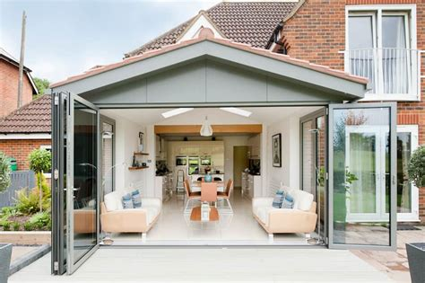 gabled conservatory extension kitchen extensions housetohome co uk interior design ideas redecorating remodeling photos