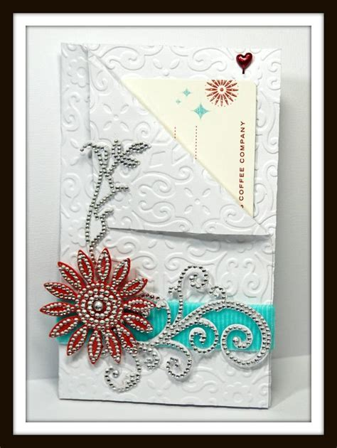 Jewel Gift Card - a jewel bling gift card holder paperblog