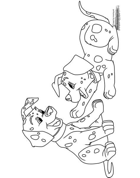 dalmatians coloring pages  disneyclipscom