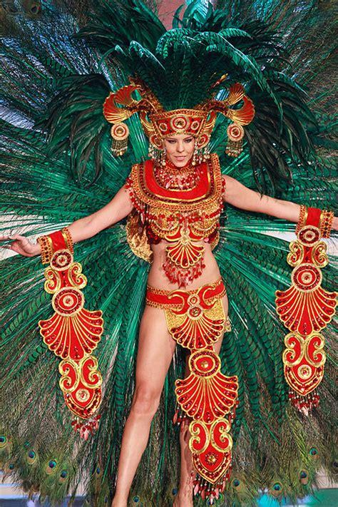 imagenes reinas aztecas 191 qu 233 te parece el traje t 237 pico con el que concurs 243 karina