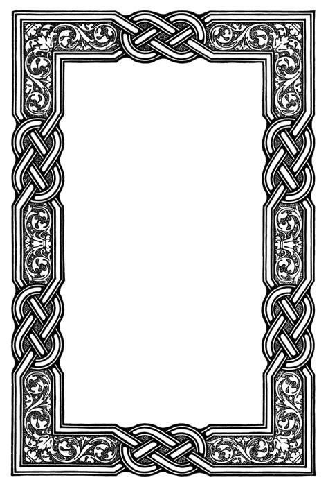Wardah Bordir Top 1 celtic frame clipart
