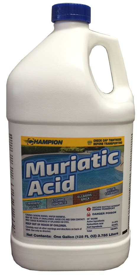 muriatic acid chion packaging