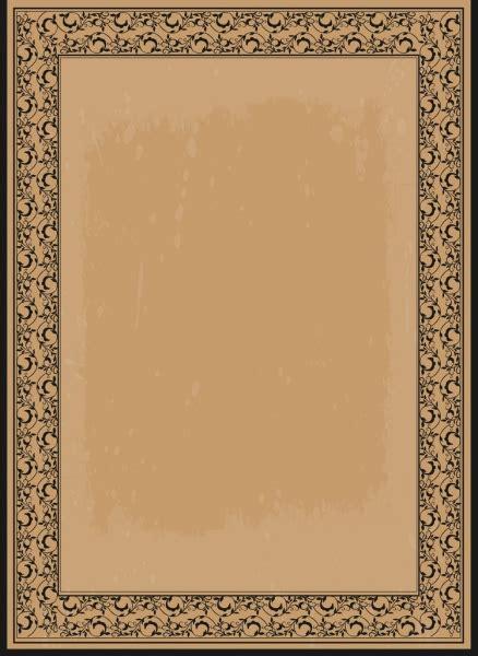 border templates for adobe illustrator document border template seamless motif retro style free