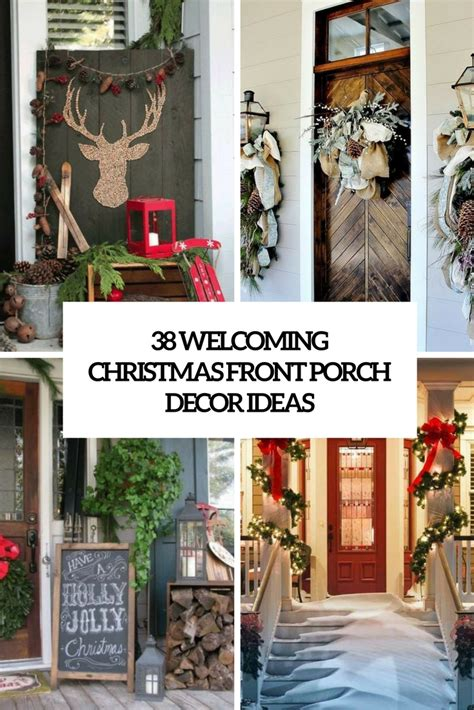 front porch decor ideas 38 welcoming front porch d 233 cor ideas digsdigs