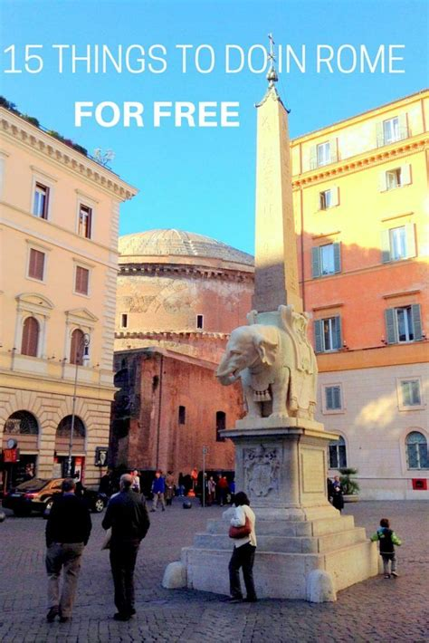best things to see in rome 15 amazing free things to see in rome tips from a local