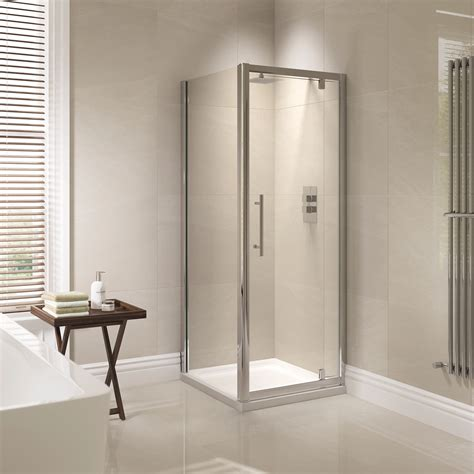 760mm Shower Door April Prestige 760mm Pivot Shower Door Ap8226s