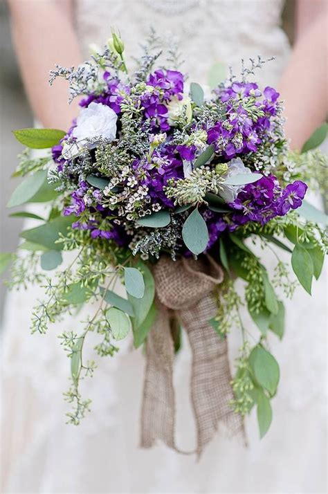 Wedding Bouquets Bc by Wedding Bouquet Rustic Country Purple Stock Caspia