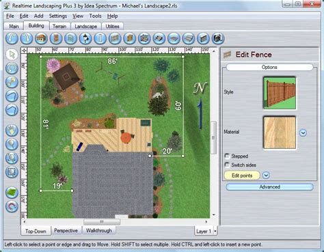 Free Floor Plan Layout Software by Free Landscape Design Program