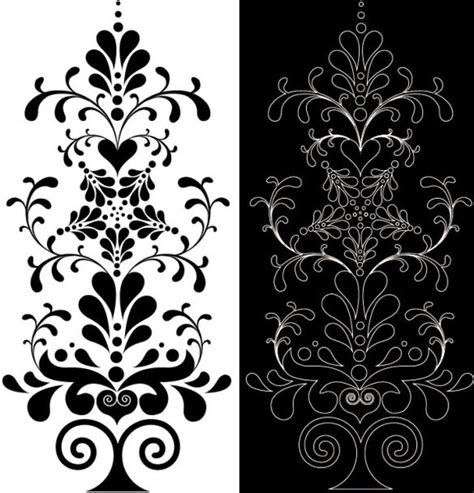 lace pattern vector art classic lace pattern 06 vector free vector in encapsulated