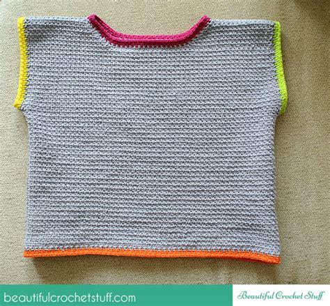 pattern crochet crop top crochet crop top free pattern beautiful crochet stuff
