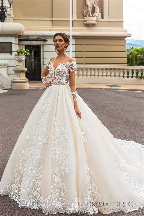 design dress bridal crystal design 2017 wedding dresses haute couture bridal