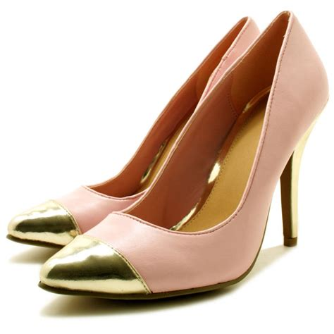 suede leather style stiletto heel toe cap court