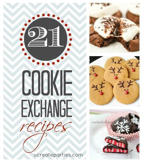 cookie exchange recipes cookie exchange ideas pinterest