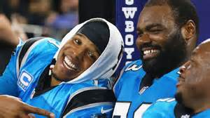 The Blind Side Football Player Carolina Panthers Cam Newton Recruited Michael Oher To