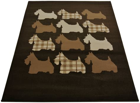scottie rug scottie rug 80x150cm chocolate for only 163 29 99