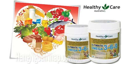 Healthy Care Omega 369 200 Caps omega 369 healthycare ultimate hộp 200 vi 234 n ch 237 nh h 227 ng của 218 c dhp