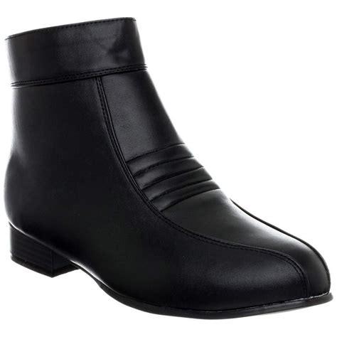 j h boots black stormtrooper elvis disco pimp platform shoe