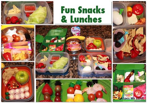 7 Safe Ideas For School Snack Time by Parkhurst Family Packing Healthy School Lunches