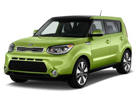 kia cube 2015 2014 kia soul 5dr wagon auto angular front exterior view