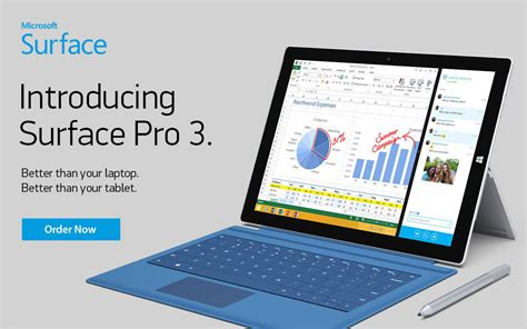 Microsoft Surface Pro 3 introducing surface pro 3