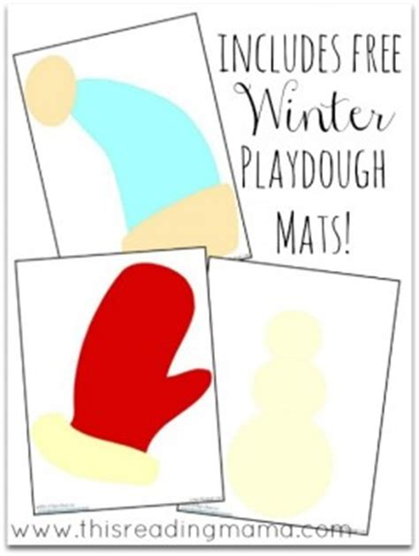 printable winter playdough mats 15 new homeschool resources freebies deals and more for