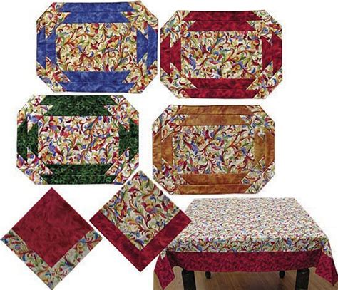 Free Easy Quilted Placemat Patterns by Free Easy Quilt Block Patterns Laced Quilt Block