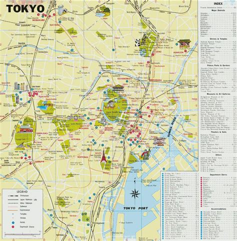 map of tokyo large tokyo maps for free and print high resolution and detailed maps