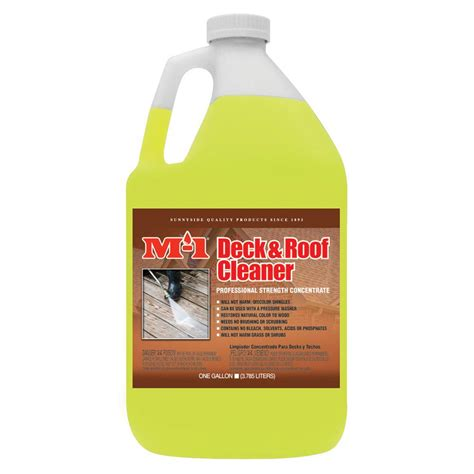 gal deck  roof cleaner drg  home depot