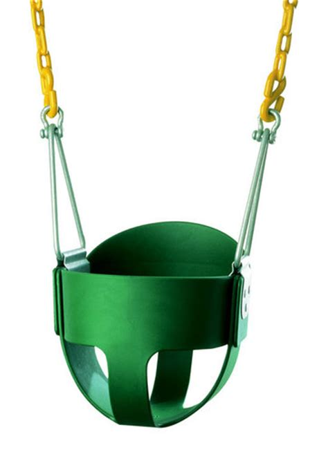 bucket swing with chain high back full bucket swing seat with pc chain