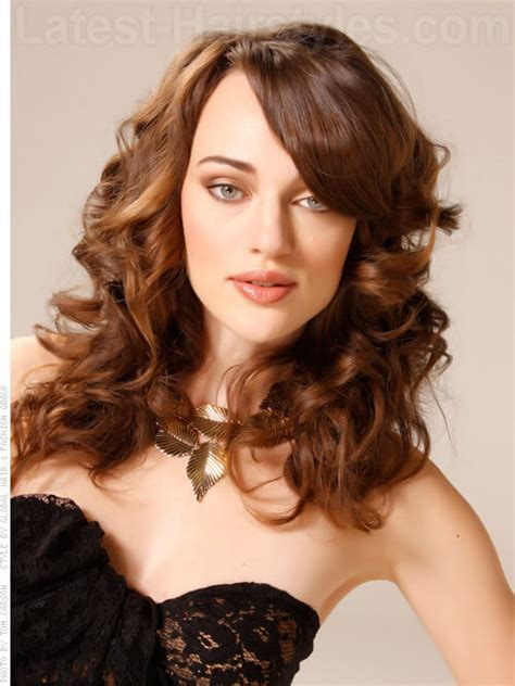 curly hairstyle high forehead hairstyles for flat foreheads hairstyle gallery