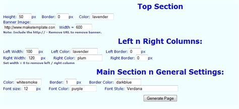 html layout code generator 40 useful css tools and generators for web developers