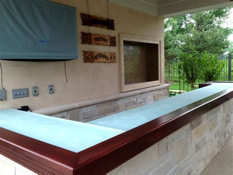 glass bar top for outside gb38 cbd glass