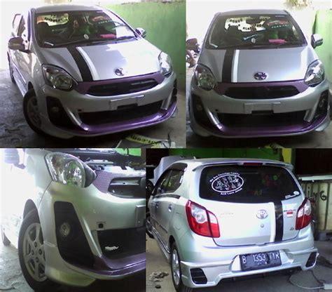 Kancing Bemper Bumper Calya Sigra Ayla Agya 1 modifikasi ayla agya concept extreem auto bodykit mobil