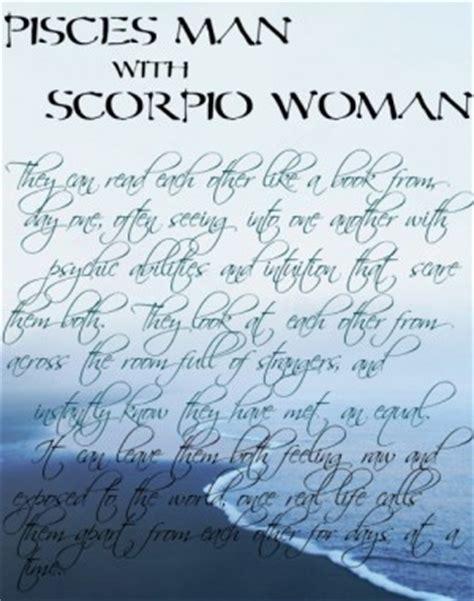 pisces and scorpio together quotes quotesgram