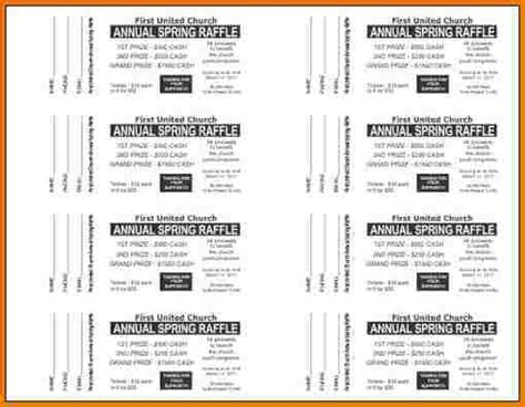 doc 788682 raffle ticket template free templates