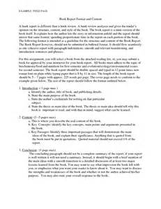 Book Report Examples Of Book Critique Examples Good Book Review Example Critical Book
