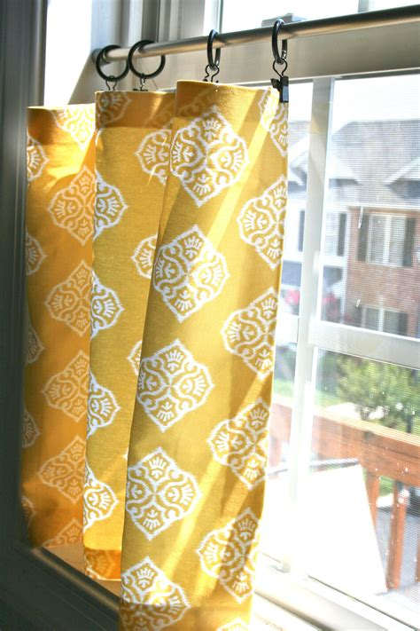 cafe curtains diy diy tutorial diy home crafts diy no sew cafe curtains