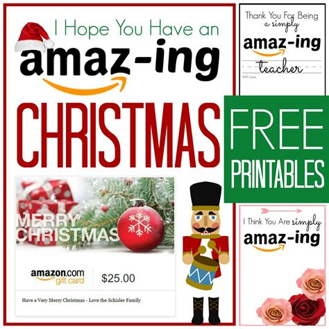 Free Gift Cards - free amazon gift card printable cards