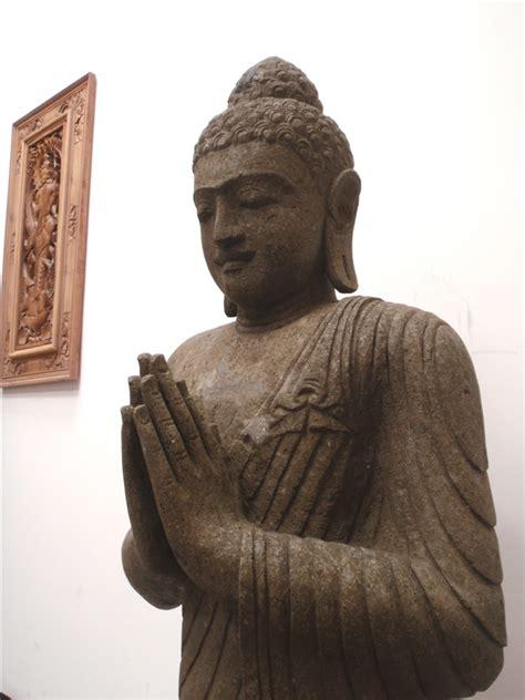 sleeping sitting buddha statue asian home decor zen 4 foot stone sitting buddha statue tibetan greeting pose