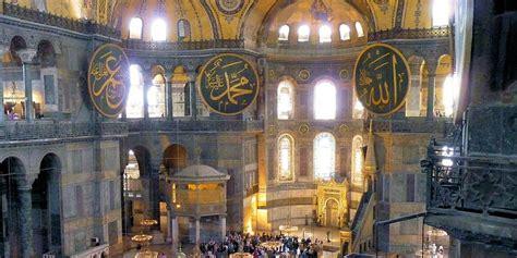 santa sofia istanbul interno tour turchia meravigliosa