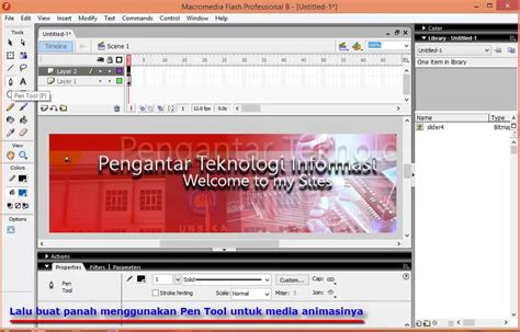 tutorial web banner flash tutorial animasi macromedia flash untuk banner sites youtube